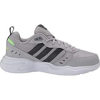 adidas Men's Strutter Sneaker, Grey/Grey Six/Signal Green, 6.5 M US