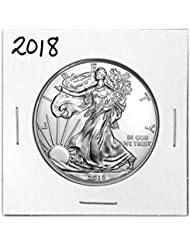 2018 - 1 Ounce American Silver Eagle Low Flat Rate Shipping .999 Fine Silver Dollar Uncirculated Us Mint