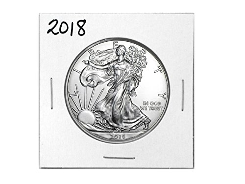 2018 - 1 Ounce American Silver Eagle Low Flat Rate Shipping .999 Fine Silver Dollar Uncirculated Us Mint (The Dollar Coin)