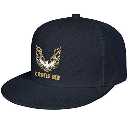 (Fashion Trucker Hat Pontiac-Firebird-Logo- Navy_Blue Unisex Cute New Visor Adjustable Cap)