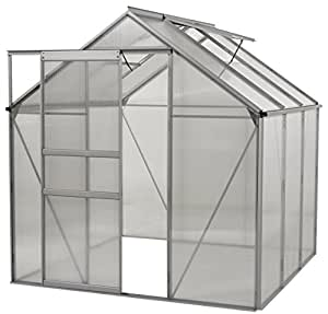 oGrow OGAL-666 Aluminium Greenhouse