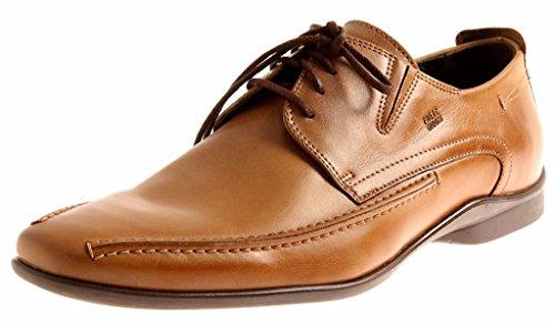 FRETZ men Schnürhalbschuhe Toronto Manhattan Business Schuhe Leder 2211.6976 Sattel