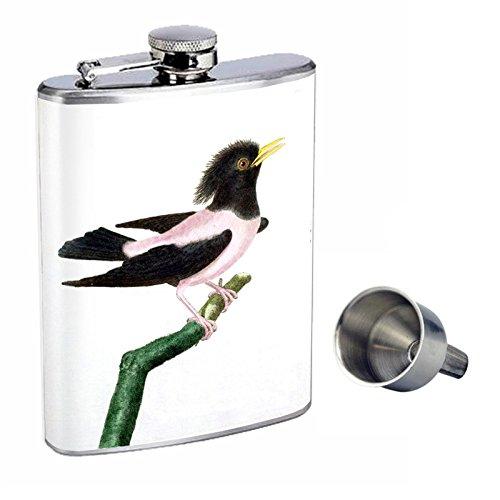 超可爱の ビンテージ鳥Perfection inスタイル8オンスステンレススチールWhiskey B016XLH9V2 Flask with Free Funnel d-012 with d-012 B016XLH9V2, サルトリパーロ:48e32d18 --- pathlab.officeporto.com