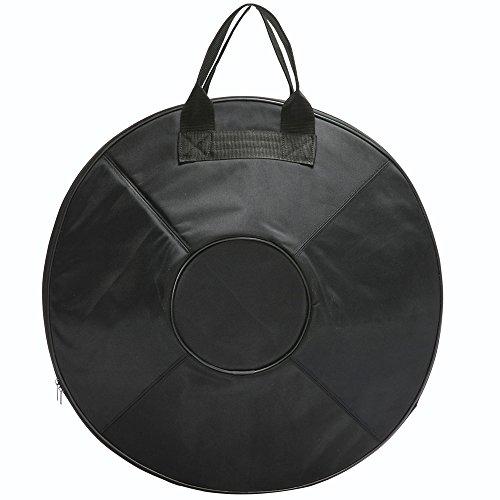 Advanced Version''Lark Music'' hand pan in D Minor 9 notes steel hand drum + Soft Hand Pan Bag (22.8'' (58cm), Deep Blue (D Minor) 9 notes D3 A Bb C D E F G A) by Lark Music (Image #2)