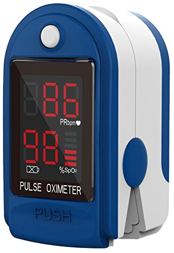 CMS 50-DL Pulse Oximeter with Neck/Wrist