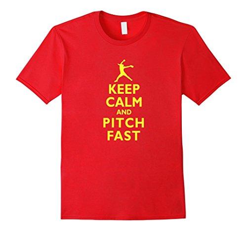 Keep Calm Pitch Softball T shirt product image