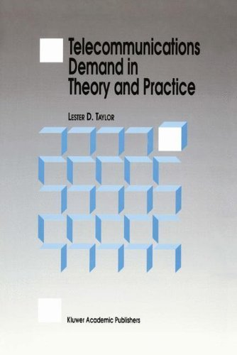 Download Telecommunications Demand in Theory and Practice Pdf