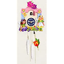 One Day Movement Kids Cuckoo Clock - Elves Theme 10 Inch