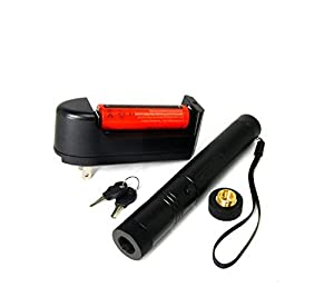 Sportedword Powerful Laser Pointer Pen Visible Beam Light Lazer High Power 532nm Tactical flashlight (50mw)