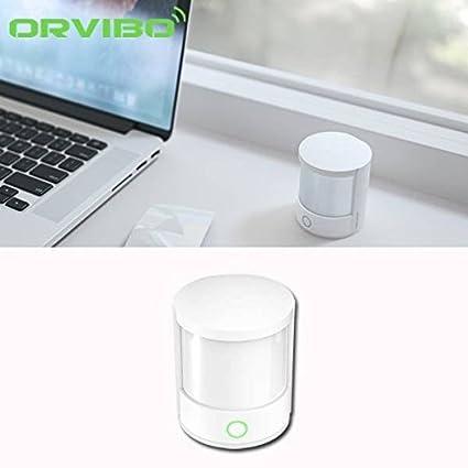 Saver Alarma orvibo Mini wifi control remoto sistema casero de movimiento pir sensor inteligente