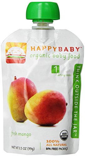 Happy Baby Starting Solids Mango