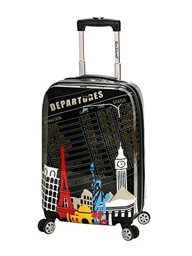 Rockland Luggage 20 Inch Polycarbonate Carry On, Departure, for sale  Delivered anywhere in USA