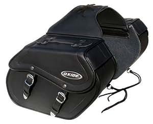 Oxide Bolsa Maleta para Moto, Color Negro, (2 alforjas), 1 Pieza: Amazon.es: Coche y moto