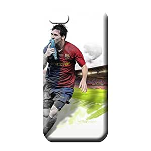 iphone 6plus 6p Impact Pretty pattern phone carrying case cover lionel messi sport