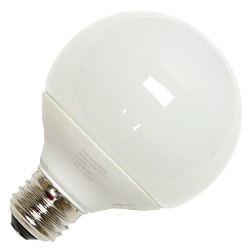 (6-Pack) TCP 2G2514 14-Watt 2700K E26 Base CFL G25 Globe Lamp, 60W Equivalent (G25 Globe Tcp 14w)