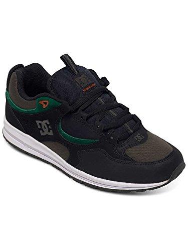 Dc Shoes Kalis Lite Zapatillas, Color: Black/Green/Grey, Size: 47 EU (13 US / 12.5 UK)