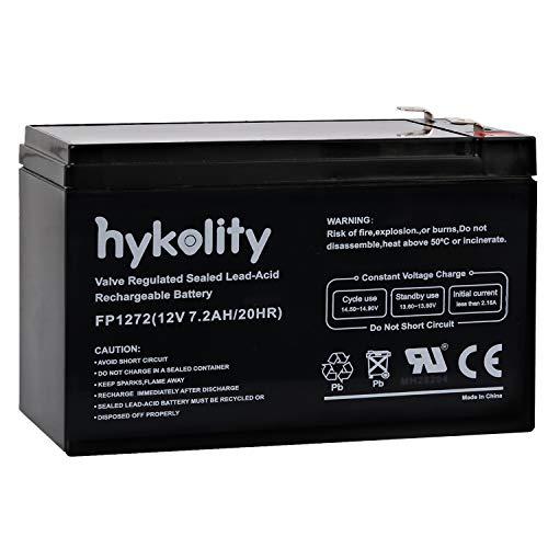 Acid Lead (Hykolity 12V 7AH 7.2AH Battery Rechargeable Seal Lead Acid 7 Amp Batteries)