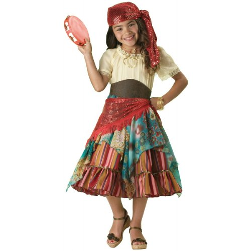 Fortune Teller Costume For Girls - InCharacter Costumes Girls Fortune Teller Costume,