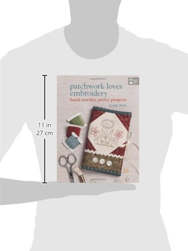 Patchwork Loves Embroidery: Hand Stitches, Pretty Projects by That Patchwork Place (Image #5)