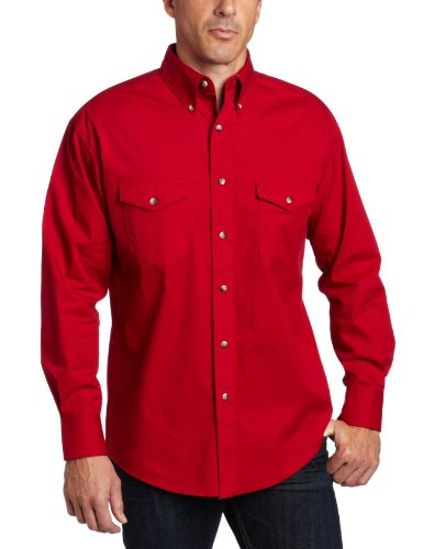 Wrangler Basic Shirt, Red