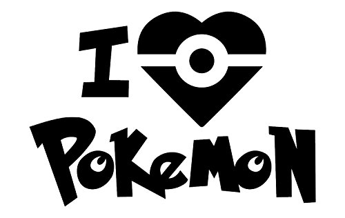 [Best Pokemon Vinyl Decal, Includes FREE E-book - 10 Top Pokemon Go Tips! Gotta Catch Em All Decals,, Made In The USA, Easy To Apply And Removable RED Vinyl, GO] (Easy Movie Inspired Costumes)