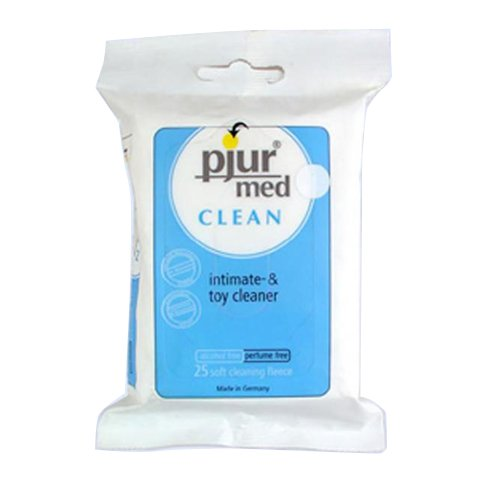Pjur Med Clean Wipes, 25 Count
