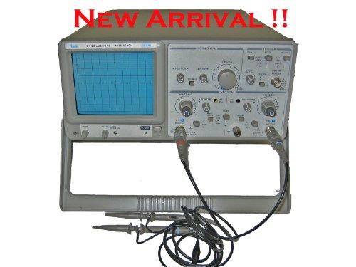 Dual Trace Oscilloscope (DUAL TRACE ANALOG OSCILLOSCOPE 20MHZ, REK MOS620CH)