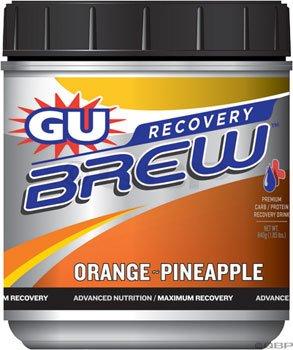 GU Recovery Brew ananas Boisson à l'orange, One Size