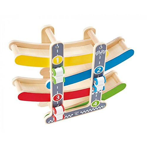 Hape Fast Flip Wooden Racetrack product image
