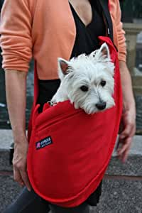 Fundle Ultimate Pet Sling Classic Series Color: Red Size: Mini