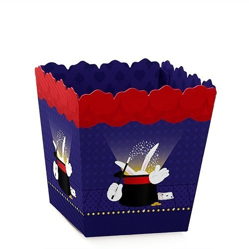 Magic - Party Mini Favor Boxes - Baby Shower or Birthday Party Treat Candy Boxes - Set of 12]()