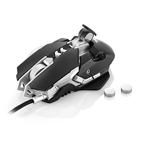 10 opinioni per [Mouse Gamer] COMBATERWING Mouse da Gaming Professionale, USB Mouse Gamer ottico