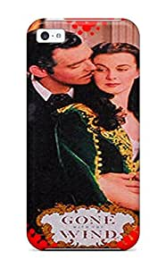 Cute Appearance Cover/tpu GXWExvZ2009SbYLE Gone With The Wind Case For Iphone 5c