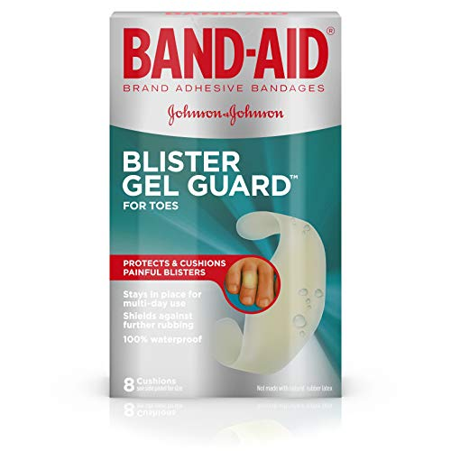 BAND-AID® Brand Blister Protection, Adhesive Bandages for Fingers and Toes, 8 Count ()
