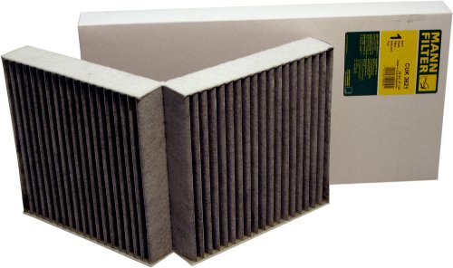 Mann-Filter CUK 3621 Cabin Filter With Activated Charcoal for select  Mercedes-Benz models