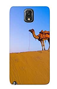 Case Provided For Galaxy Note 3 Protector Case Deserts India Camels Sahara Phone Cover With Appearance