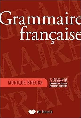 Grammatique Francaise