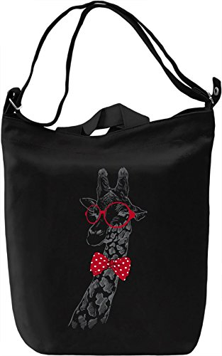 Hipster giraffe Borsa Giornaliera Canvas Canvas Day Bag| 100% Premium Cotton Canvas| DTG Printing|