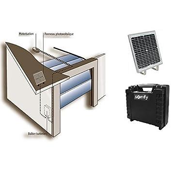 Charmant SOMFY   Kit Du0027alimentation Solaire Pour Porte De Garage SOLARSET PRO Somfy    9015859