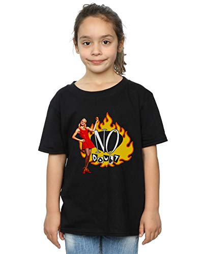 Absolute Girl Cult Gwen Doubt Flames Nera No T shirt q6RIt