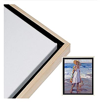 Creative Mark Illusions Floater Frame for 3//4 Inch Depth Stretched Canvas