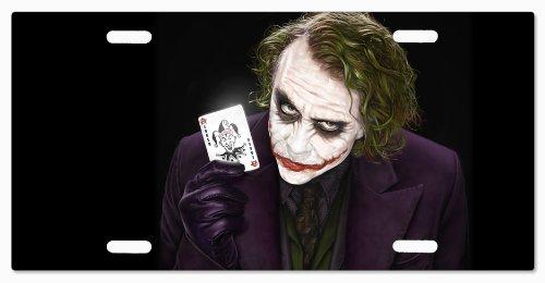 The Joker Batman Knight Rise v47 Vanity License Plate (Rise Batman)