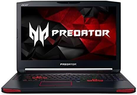 """Acer Predator 17 Gaming Laptop, Core i7, GeForce GTX 1070, 17.3"""" Full HD G-SYNC, 16GB DDR4, 256GB SSD, 1TB HDD, G9-793-78CM"""