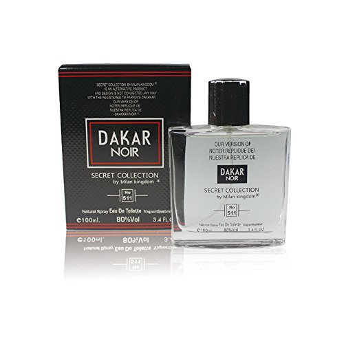 (GUY NOIR PERFUME, Our version of DRAKKAR NOIR, 3.4 Fl.Oz Eau De Toilette Spray for Men, Perfect Gift, Masculine Scent, Daytime and Casual Use, for all Skin Types)