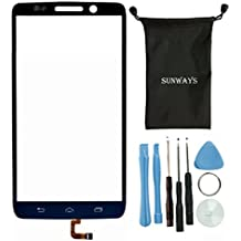 Suwnays Black Touch Digitizer Screen Glass Replacement For Motorola Droid Mini XT1030 With device opening tools