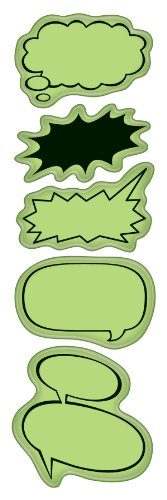 Inkadinkaclings Stamps Rubber - Inkadinkaclings Rubber Stamps That Cling, Comic Book Talk Bubbles