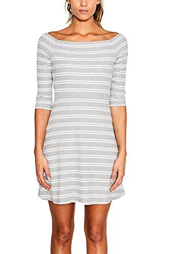 ESPRIT, Vestido para Mujer Multicolor (Light Grey)