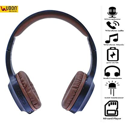 35a0448fd97 Image Unavailable. Image not available for. Colour: U Bon™ BT-5690|Heavy  Bass Wireless/Wired Bluetooth Headphone|Black