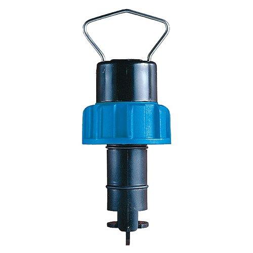GF Signet 3-2536-P0 Rotor-X Paddlewheel Flow Sensor, Polypropylene Body, Black PVDF Rotor, Titanium Pin, 0.5'' to 4'', 8''