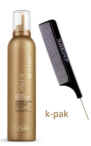 Joico K-Pak THERMAL DESIGN FOAM for Protective Styling Mousse (STYLIST KIT) Bio-Advanced Peptide Complex (10.2 oz / 300 ml)
